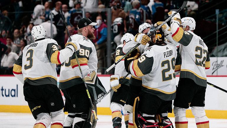 Хоккеисты «Вегаса». Фото USA Today Sports