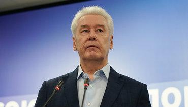 Собянин заявил, что вМоскве нетребуется вводить локдаун из-за коронавируса