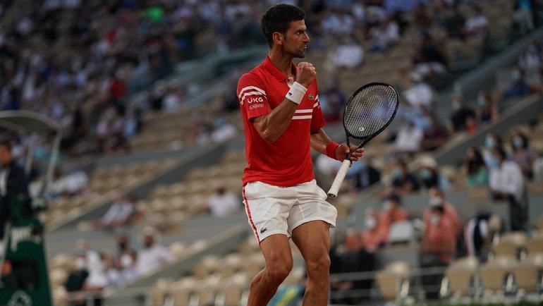 Новак Джокович. Фото Roland Garros.