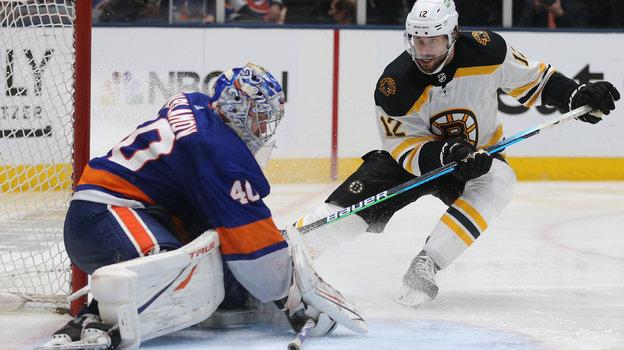 «Айлендерс»— «Бостон»— 6:2, обзор матча НХЛ, видео голов, Семен Варламов, 10июня 2021 года