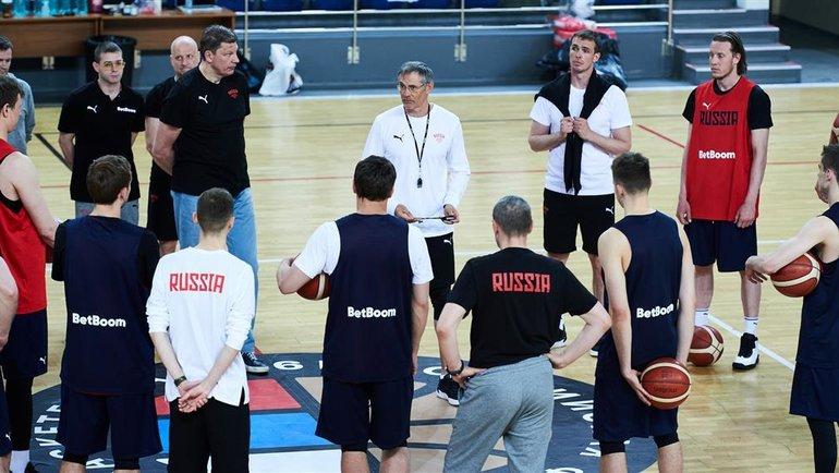 Россия лишилась шестерых игроков основы перед олимпийской квалификацией. Фото Федерация баскетбола России