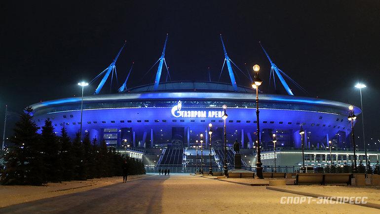 «Газпром Арена». Фото Александр Федоров, «СЭ» / Canon EOS-1D X Mark II