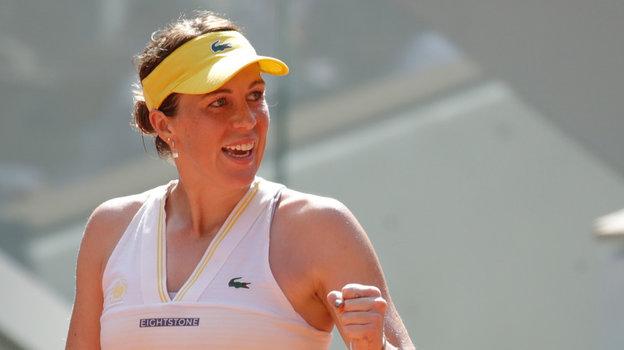 Российская теннисистка Анастасия Павлюченкова вышла вфинал Ролан Гаррос, обзор матча против Тамары Зиданшек 10июня 2021 года
