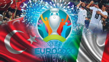 Турция— Италия: матч открытия Евро 2020.