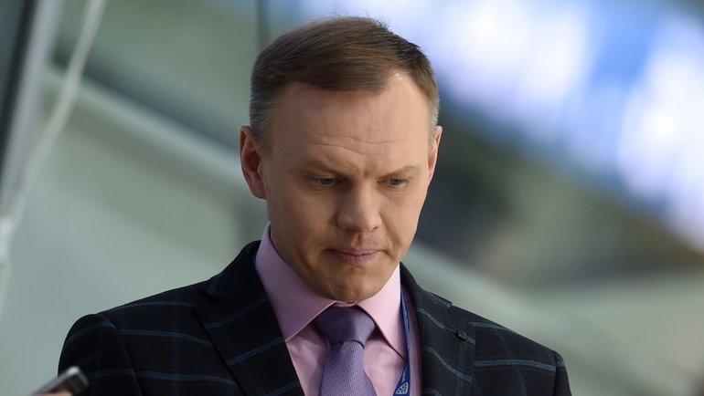 Алексей Бадюков. Фото Владимир Беззубов., photo.khl.ru