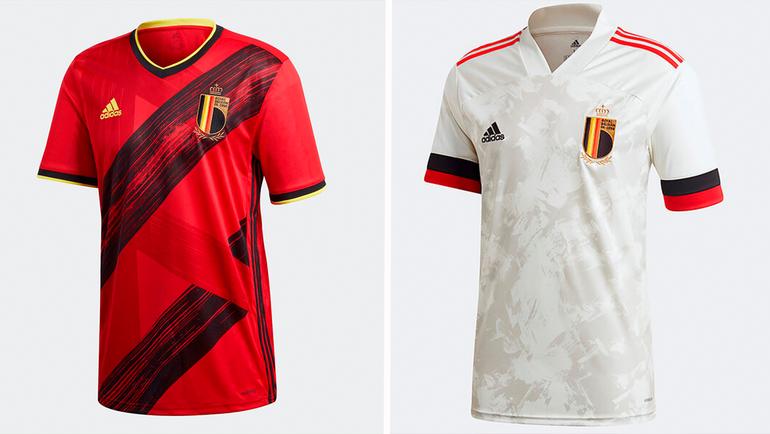 Форма сборной Бельгии.