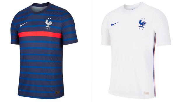 Форма сборной Франции.