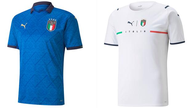 Форма сборной Италии.