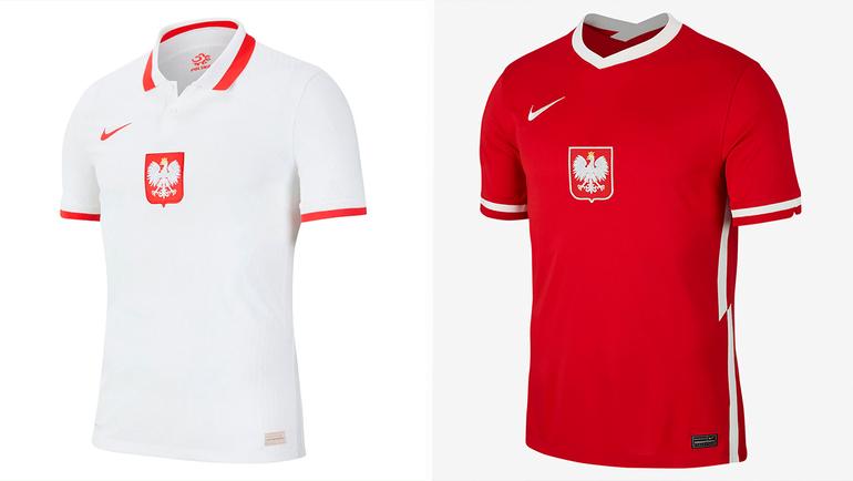 Форма сборной Польши.