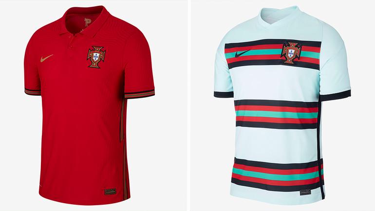 Форма сборной Португалии.