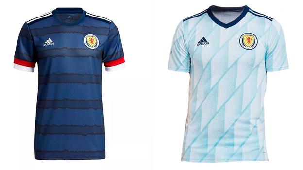 Форма сборной Шотландии.