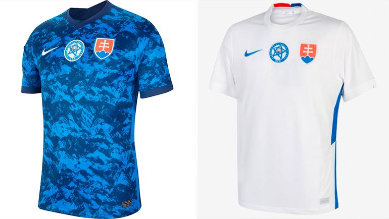 Форма сборной Словакии.