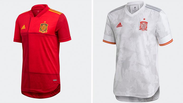 Форма сборной Испании.