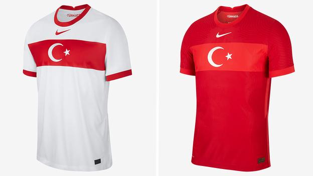 Форма сборной Турции.
