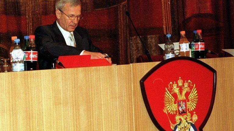 1999 год. Вячеслав Колосков. Фото Дмитрий Солнцев, -