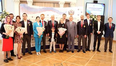 Российским шахматистам вручены государственные награды