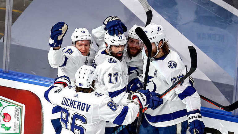 Хоккеисты «Тампы». Фото nhl.com