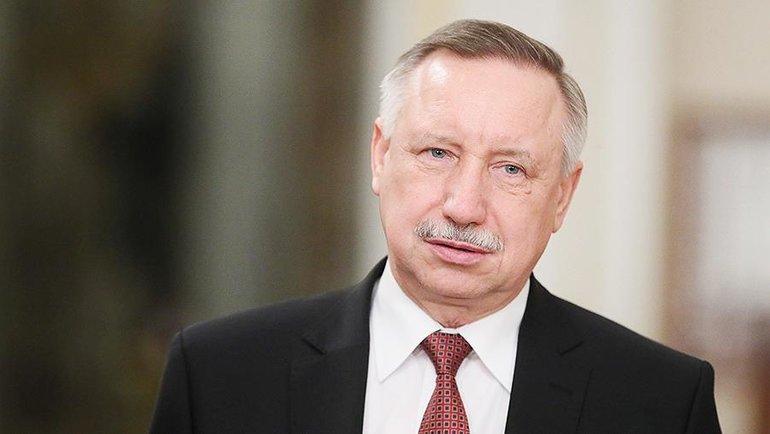 Александр Беглов. Фото «Известия»