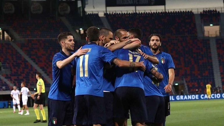 Футболист сборной Италии. Фото instagram.com/azzurri
