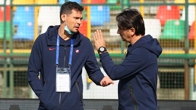 Деян Ловрен иЗлатко Далич. Фото Reuters