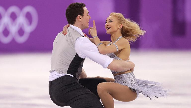 Бруно Массо иАлена Савченко. Фото Richard Heathcote/Getty Images