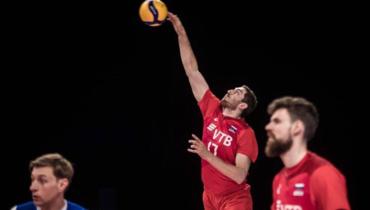 Сборная России поволейболу проиграла Словении вматче Лиги наций