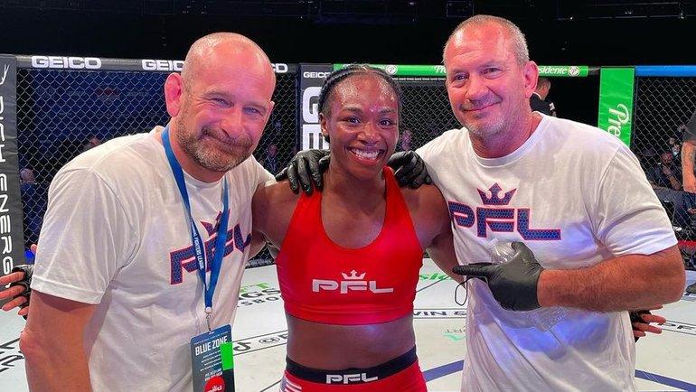 Двукратная олимпийская чемпионка побоксу дебютировала вММА. Как это было