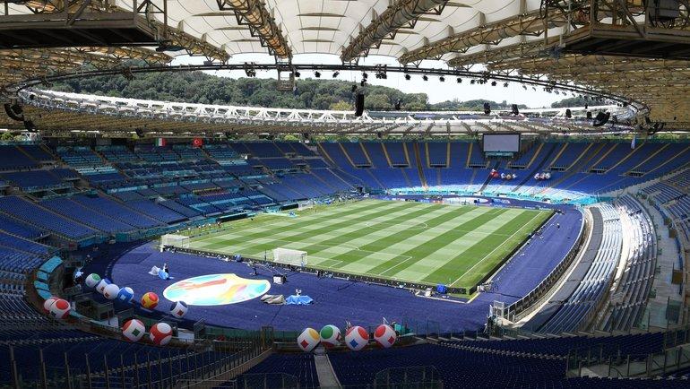 «Стадио Олимпико» перед матчем. Фото Сборная Италии.