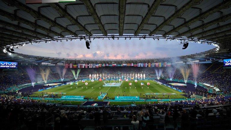 Церемония открытия Евро-2020. Фото Twitter