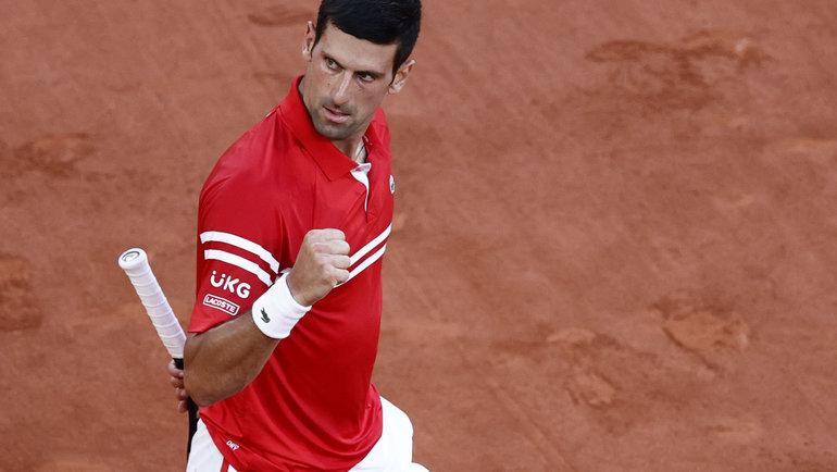 Новак Джокович. Фото Reuters
