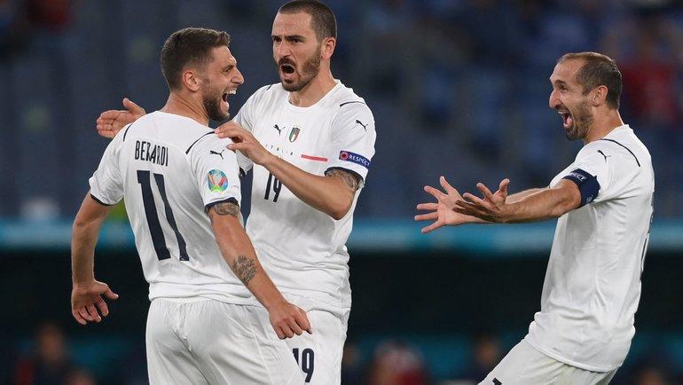 11июня. Турция— Италия— 0:3. Фото AFP