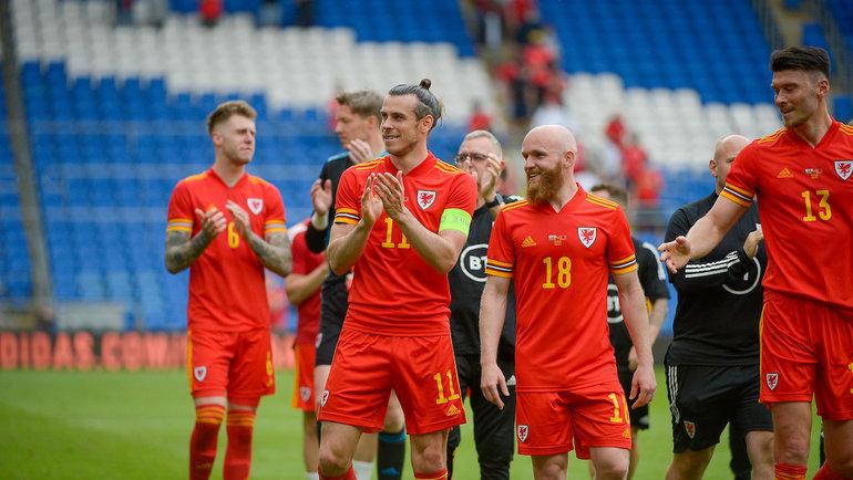 Игроки сборной Уэльса. Фото twitter.com/Cymru