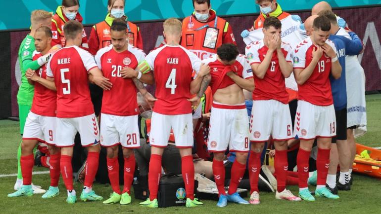 Игроки сборной Дании. Фото Twitter