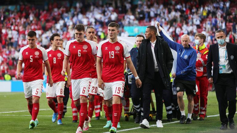 Дания - Финляндия. Фото Reuters