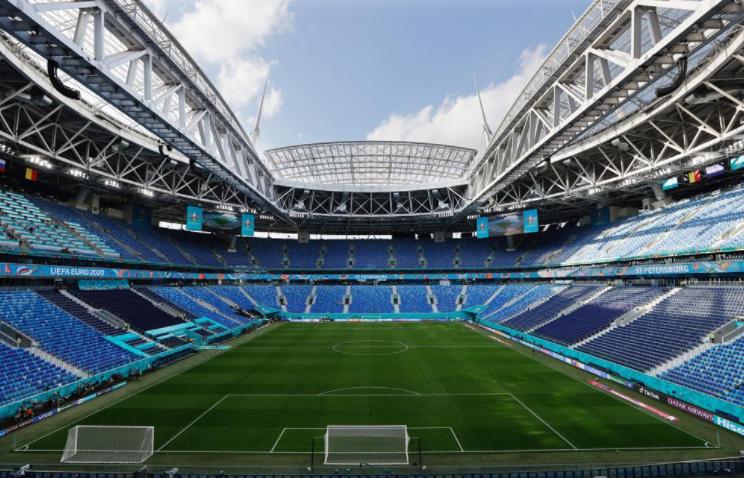 «Газпром Арена» перед матчем. Фото сайт УЕФА