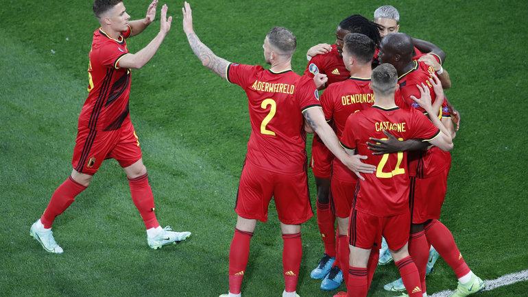 Бельгия— Россия. Фото Reuters