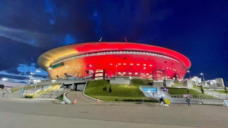 Стадион вСанкт-Петербурге. Фото УЕФА