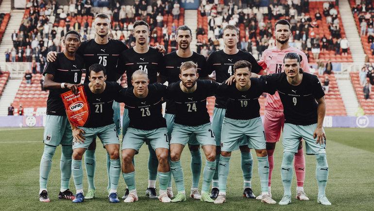 Сборная Австрии сыграет против Македонии вматче Евро-2020. Фото twitter.com/oefb1904