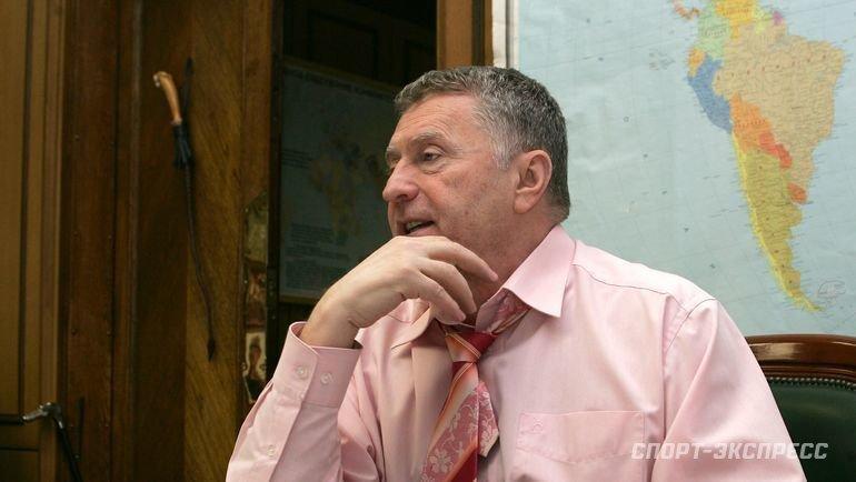 Владимир Жириновский. Фото Татьяна Дорогутина