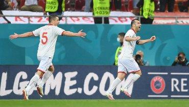 Австрия— Македония: 37-летний Пандев забил первый гол македонцев начемпионатах Европы