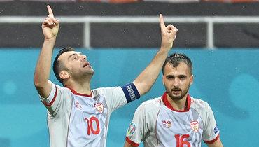 Пандев стал самым возрастным автором гола сигры вистории Евро