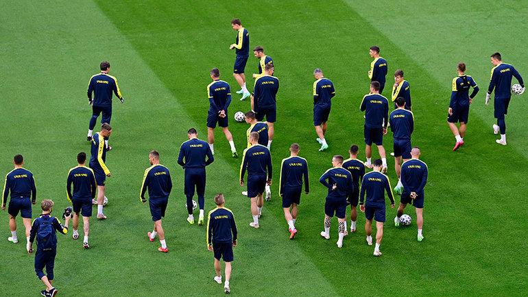 Футболисты сборной Украины. Фото Reuters