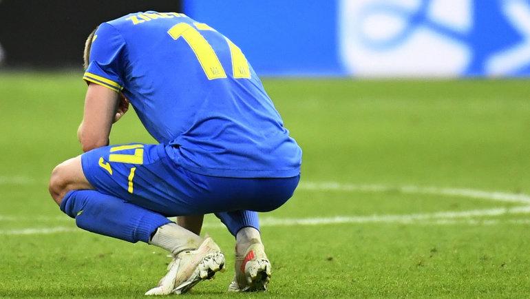Александр Зинченко после матча. Фото Reuters