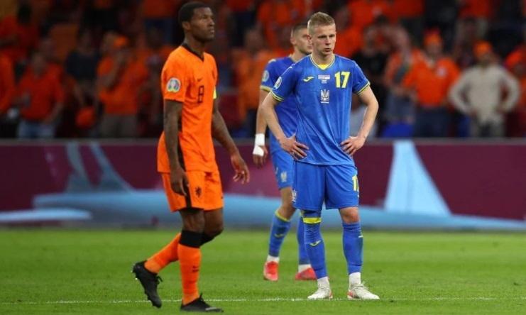 13июня. Голландия— Украина— 3:2. Фото УЕФА