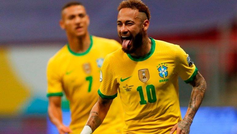 13июня. Бразилия— Венесуэла— 3:0. Фото Twitter