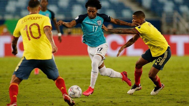 14июня. Колумбия— Эквадор— 1:0. Фото Twitter
