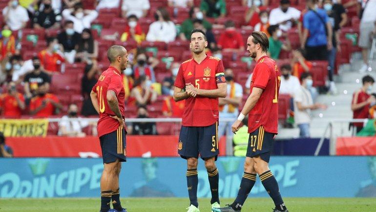 Сборная Испании сыграет против Швеции врамках группового турнира чемпионата Европы-2020.