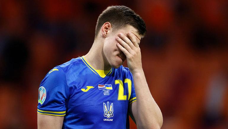 Украинская команда потерпела шестое поражение подряд в рамках чемпионатов Европы. Фото Getty Images