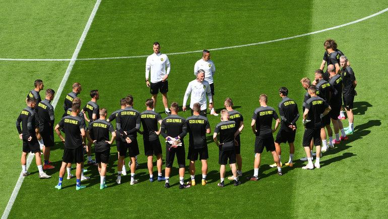 Футболисты сборной Чехии. Фото Reuters
