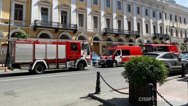 Вотеле сборной Словакии произошел пожар. Фото Севастиан Терлецкий, «СЭ»
